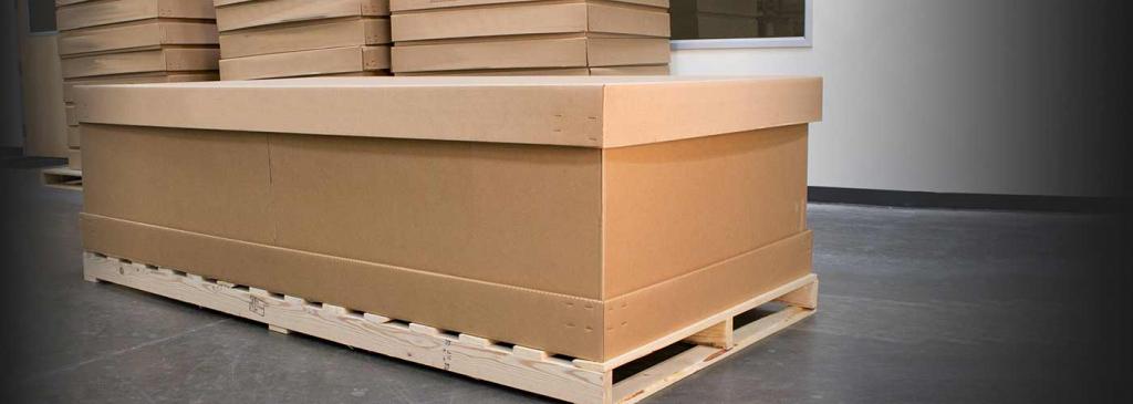 Паллетная тара и упаковка из гофрокартона: спецификация